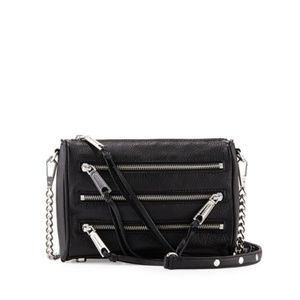 NWT Rebecca Minkoff mini 5 zip crossbody bag